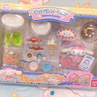 🚚 萬代 2006年 絕版極少見 大耳狗咖啡廳甜點玩具組合