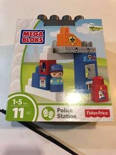 Fisher Price Mega Bloks Police Station