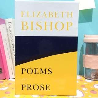 ELIZABETH BISHOP POEMS AND PROSE (Farrar, Straus, & Giroux)