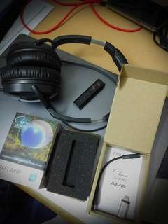 Authentic*Soundblaster e5 portable headphone amplifier, Electronics