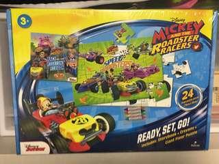🚚 Mickey and the roadster racers puzzle