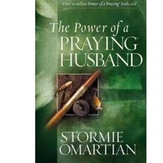 Brand New THE POWER OF A PRAYING HUSBAND by Stormie Omartian, Best Selling Christian Wedding gifts couple devotion