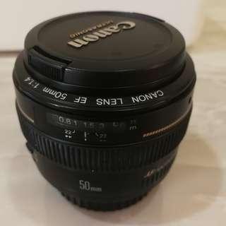 CANON EF 50mm F 1.4 USM