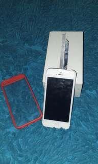 Iphone 5 64gb silver