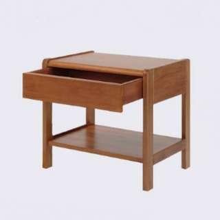 SCANTEAK Candy Bedside Table
