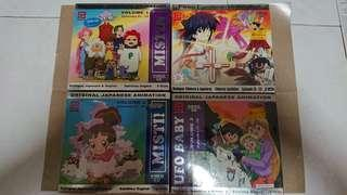Japanese animation VCDs
