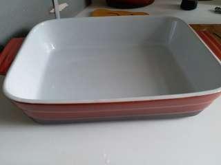新淨 長方形 陶瓷焗盤