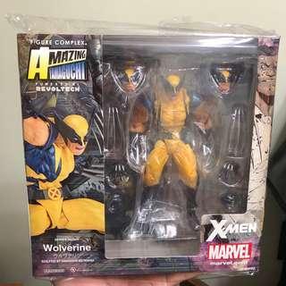 山口式 狼人 wolverine (萬磁王 磁力王 X-Men 海洋堂 )