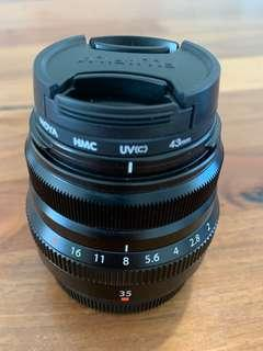 Fujifilm XF 35mm F2 — Perfect Condition!
