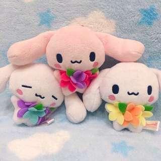 🚚 2013年 日本限定絕版 花朵系列大耳狗
