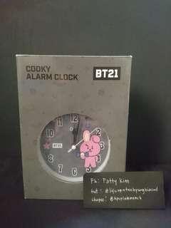 [ONHAND] OST X BT21 COOKY ALARM CLOCK