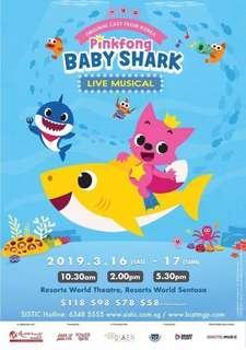 🚚 40% OFF BABY SHARK MUSICAL
