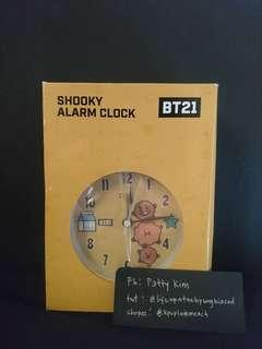 [ONHAND] OST X BT21 SHOOKY ALARM CLOCK