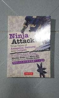 *USED* Ninja Attack! True Tales of Assassins , Samurai , and Outlaws