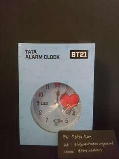[ONHAND] OST X BT21 TATA ALARM CLOCK