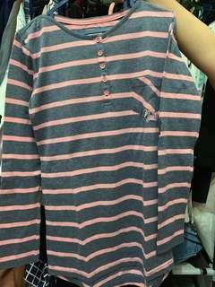Baju kaos tangan panjang