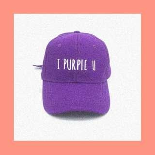 BTS TAEHYUNG I PURPLE YOU CAP