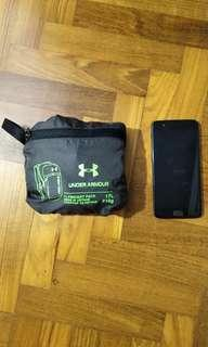 Under Armour Ultra Lightweight Foldable Pouch Backpack/Daypack 17L 210g