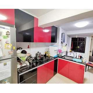 BLK 21 GHIM MOH ROAD, 3 ROOM HDB FLAT FOR SALE!  BEAUTIFULLY RENOVATED UNIT.