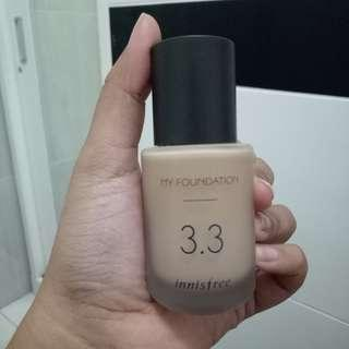 Innisfree my foundation 3.3