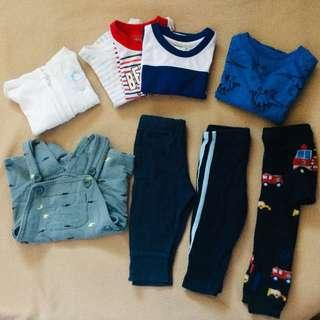 For take all Baby Boy Clothes 6-9months