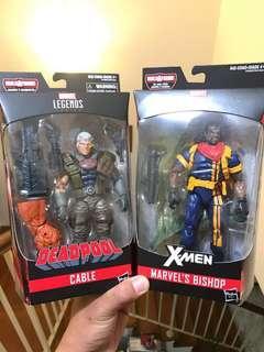Marvel Legends Cable and Bishop