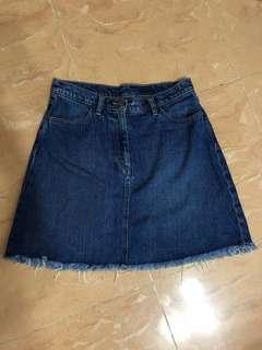 Monki Denim Skirt 牛仔裙