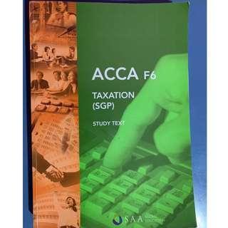 ACCA Taxation (SGP)