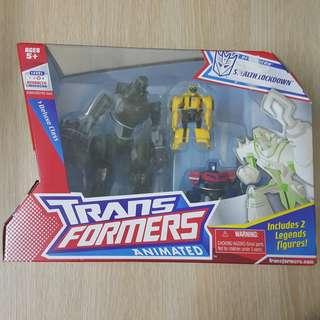 Transformers Animated Stealth Lockdown MISB