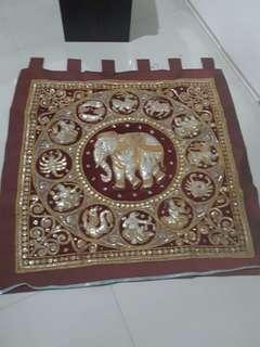 Preloved kain hiasan dinding bangkok