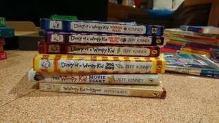 🚚 Diary Of A Wimpy Kid Children's Books (Used)