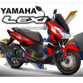 decal lexi red grafis all design