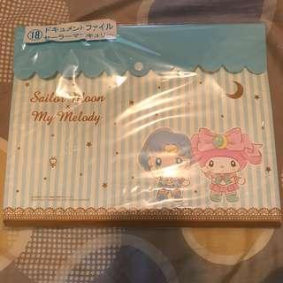 全新日本美少女戰士聯乘Melody 一番賞多層file Brand New Sailormoon melody file