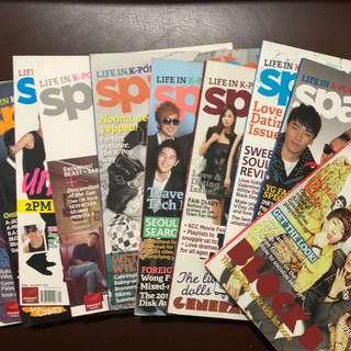 Sparkling Magazine (Life in K-pop color)
