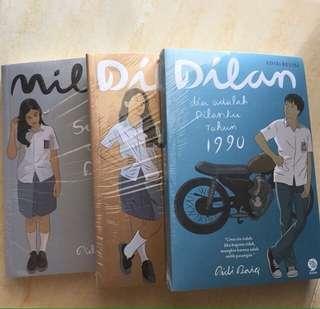 1 Paket Novel DILAN (3 BUKU)