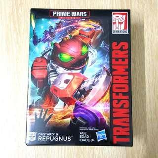 Transformers Repugnus Dastard Prime Wars Trilogy