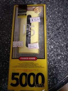🚚 Power bank 5000mah