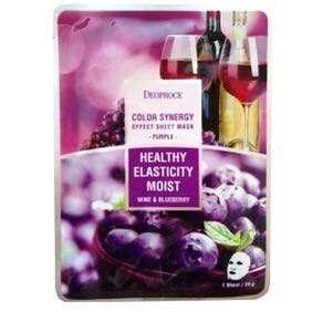 Deoproce 紅酒藍莓緊緻修護面膜