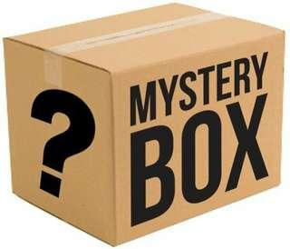 Mystery box of books