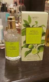 No. 4711 Acqua Colonia Lime and Nutmeg