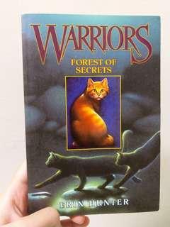 Warriors Book 3: Forest of Secrets