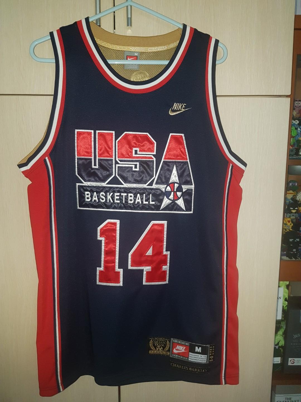 2573fae7b219 92 US Dream Team Basketball Jersey