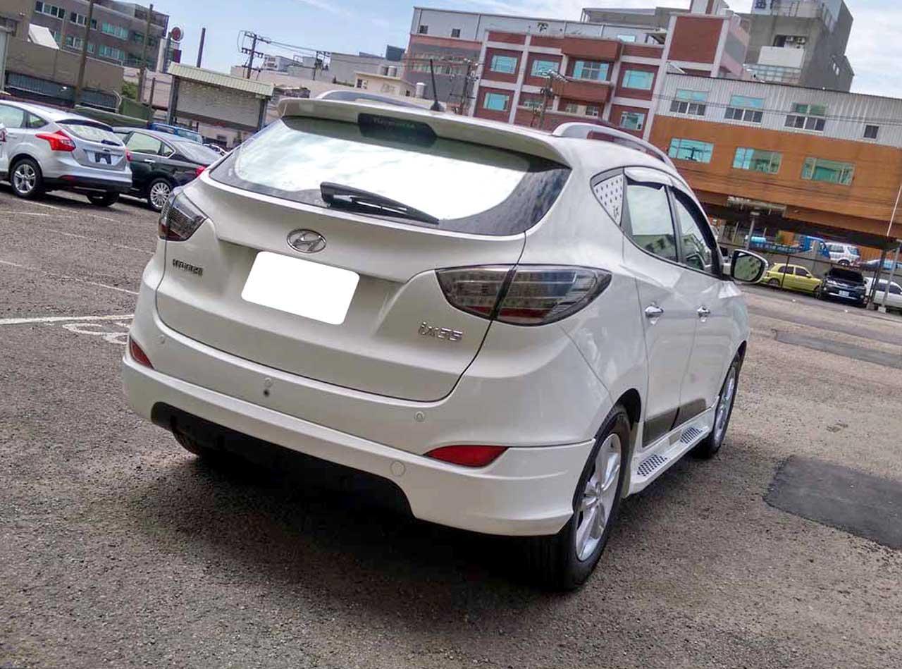 【全額貸】二手車 中古車 2010年 IX35 白色2.0全景頂