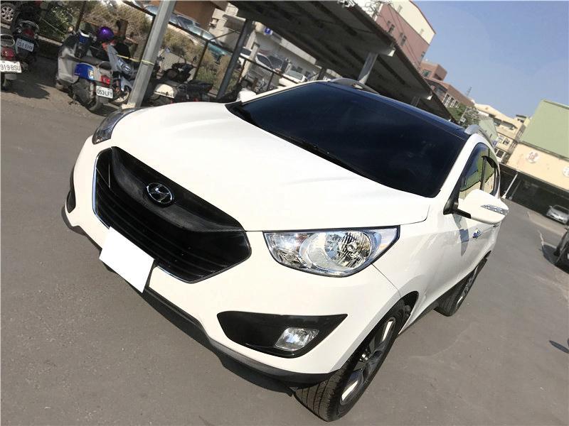 【全額貸】二手車 中古車 2012年 IX35 2.4 白色 頂