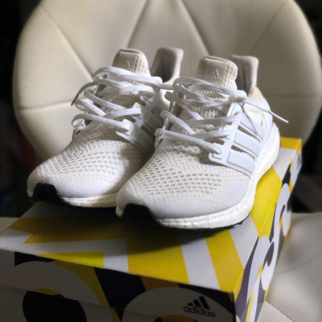 0ad937c5c 🔥 Adidas Ultra Boost 1.0 Triple White