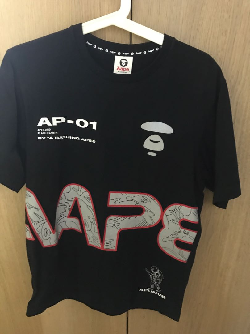 4f15b1d3 Aape by A Bathing Ape Tee, Men's Fashion, Clothes, Tops on Carousell
