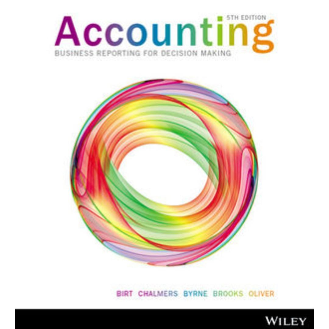 Accounting Business Reporting for Decision Making + iStudy, 5th Edition