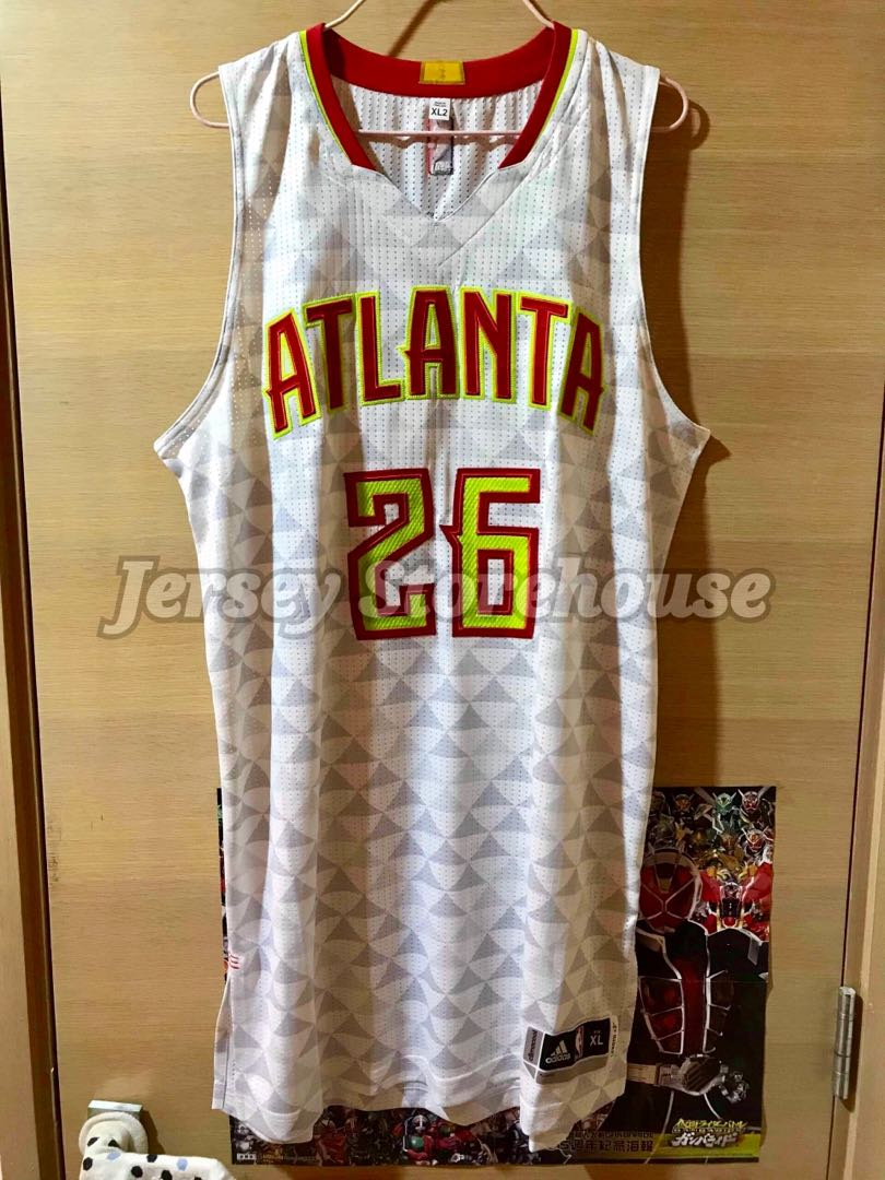separation shoes c479e 710ec Adidas NBA Atlanta Hawks Kyle Korver Home Authentic Jersey 落場版 球衣 波衫