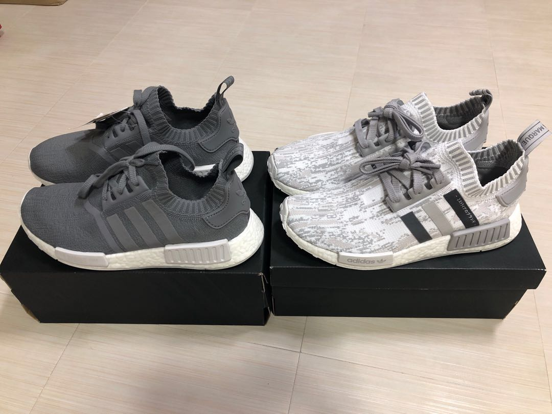 b64662d78e89c Adidas NMD PK R1 UK 8 Japan   French Grey