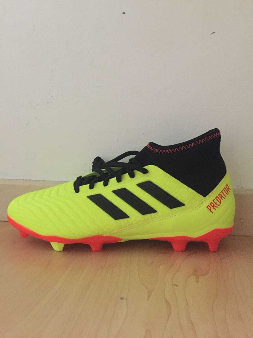 1980a1f115d0 Adidas Predator 18.3 Football Boots, Sports, Sports Apparel on Carousell